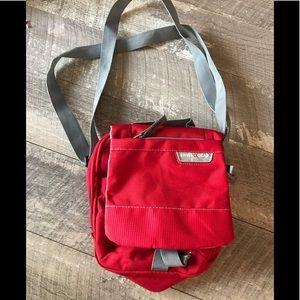 SwissGear Shoulder  Bag Compact Red  Travel Bag